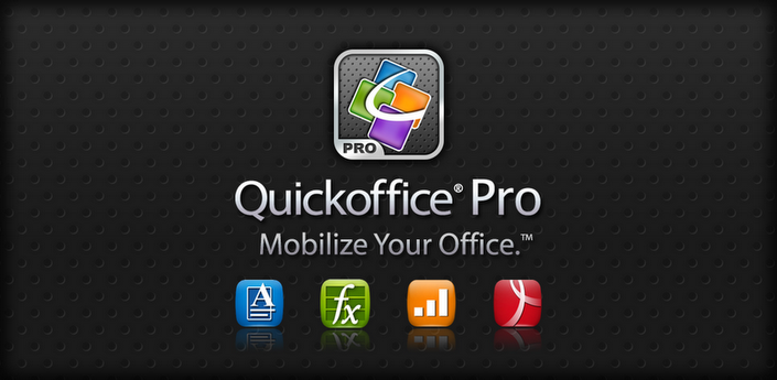 Making presentations used to be a pain, but you can use Quickoffice