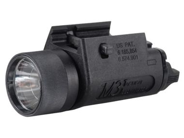 In tactical situations the Streamlight M3 flashlight is preferable to conventional flashlights because these lights are more compact, attach directly to the weapon, are easier to handle and more importantly, provide significantly clearer identification of the target.