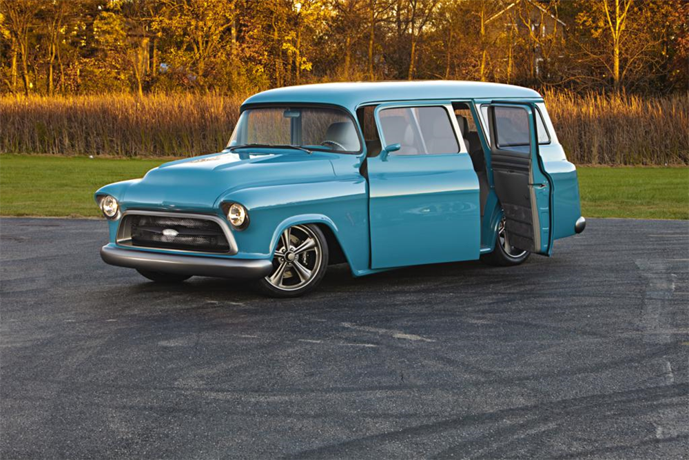1957 Chevrolet Suburban Custom Misc 1 188573 Classic Cars Trucks Pickup Trucks Vintage Trucks