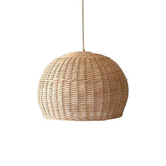 Rattan basket light ceiling bamboo lamp wood wicker chandelier rattan basket light ceiling bamboo lamp wood wicker chandelier farmhouse woven rustic pendant lighting home decor aloadofball Image collections