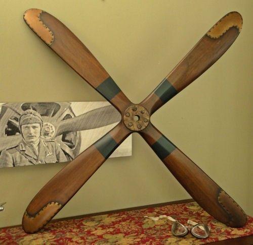 46 Inch Four Blade Wood Airplane Propeller Airplane Propeller