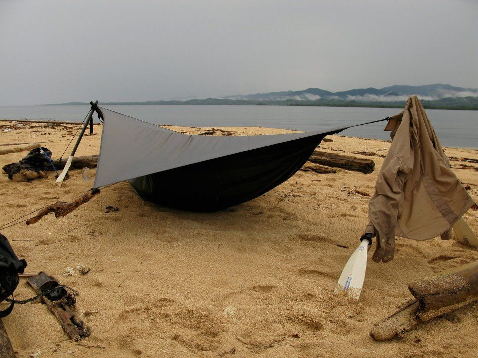 Used as a Tent: Hennessy Hammock. Easy to set, quick to grab if you have to bail.