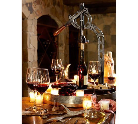Vintners Standing Wine Opener Potterybarn Wineopener