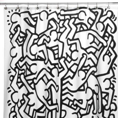 Keith Haring 72 Inch X 72 Inch Shower Curtain Bedbathandbeyond