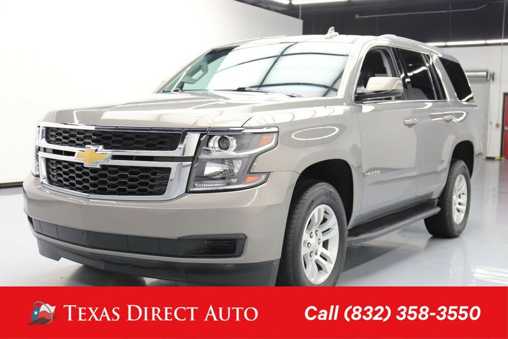 Ebay Advertisement 2018 Chevrolet Tahoe Lt Texas Direct Auto 2018