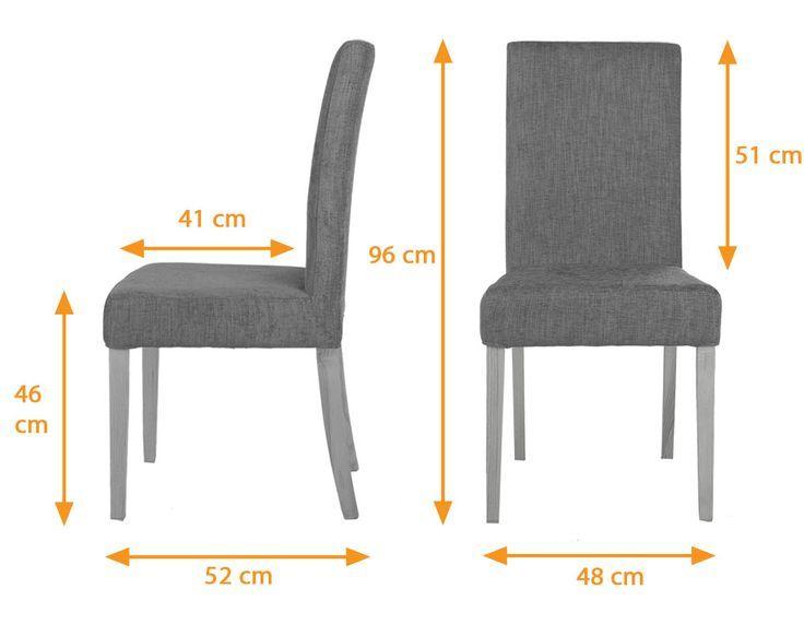 Restaurant Sofa Seating Dimensions Google Search Fabric Dining Chairs Dining Chairs Oak Dining Chairs