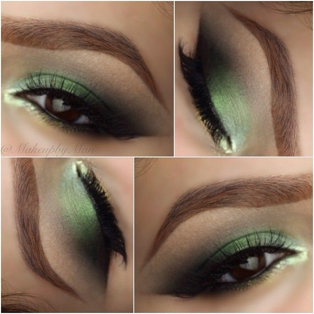 .@makeupbyman | EMERALD GREEN GOODNESS this New Years Eve and thank you for the sweet sweet c... | Webstagram