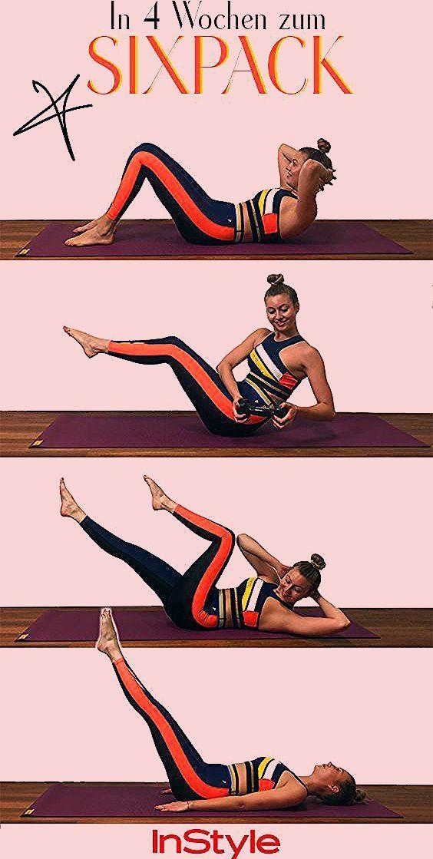 Sixpack: Diese 4 Fitnessübungen machen es möglich! #sport #fitness #wellness #sixpack