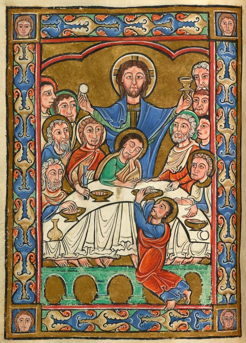 Last Supper   Vita Christi (Life of Christ)   ca. 1175   The Morgan Library & Museum