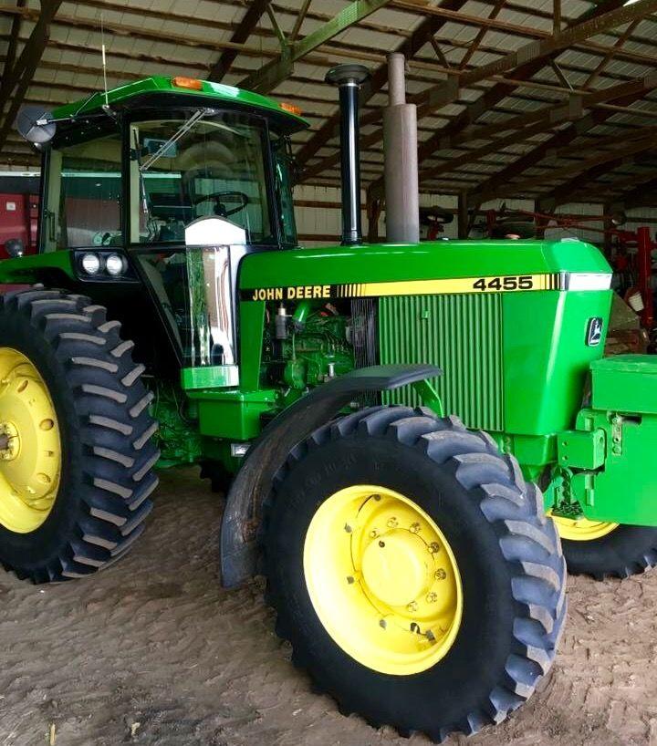 John Deere 4455 Fwd John Deere Tractors Farms John