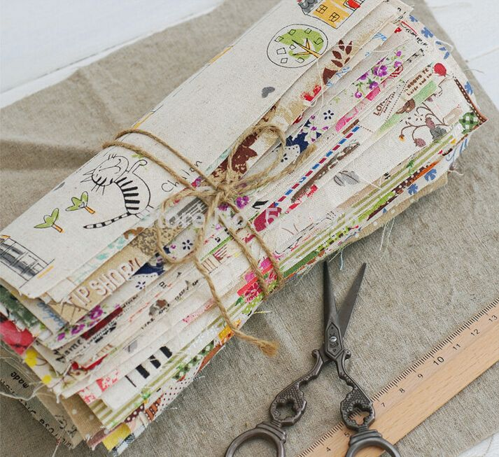 New-2014-30-pieces-20x20cm-cotton-linen-fabric-bundles-for-patchwork-DIY-sewing-fabric-shabby-chic.jpg 713×653 pixels
