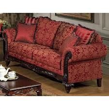 Serta Tai Victorian Style Sofa With Rolled Arms Dcgs