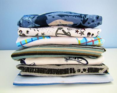 Tips for sewing boys t-shirts