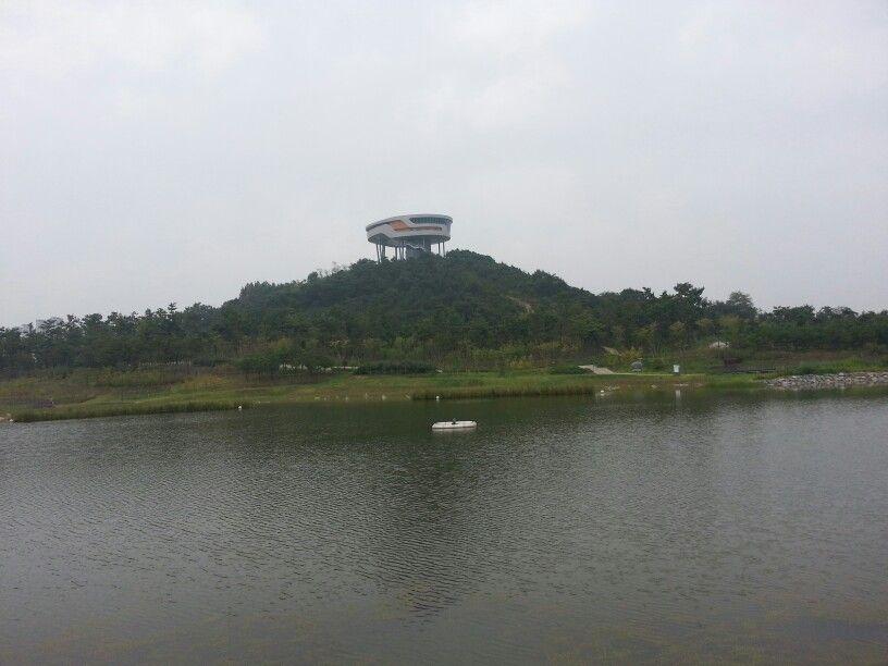 Park,Naju,Korea,혁신도시-나주,중앙호수공원