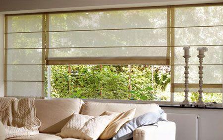 Decora la sala de tu hogar con cortinasromanas cortinas for Home disena y decora tu hogar