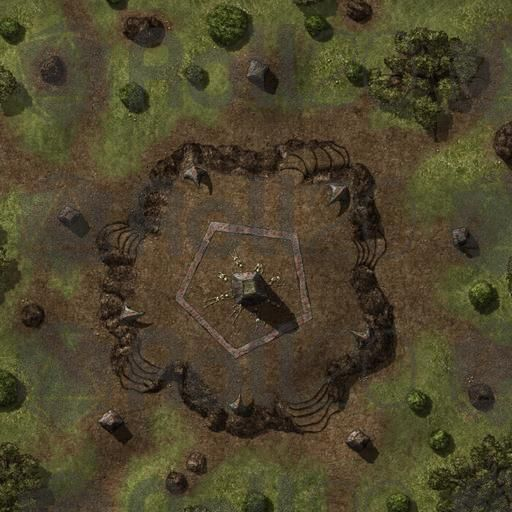 Hilltop Shrine steppe forest madcowchef   D&D Maps in 2019   Dungeon