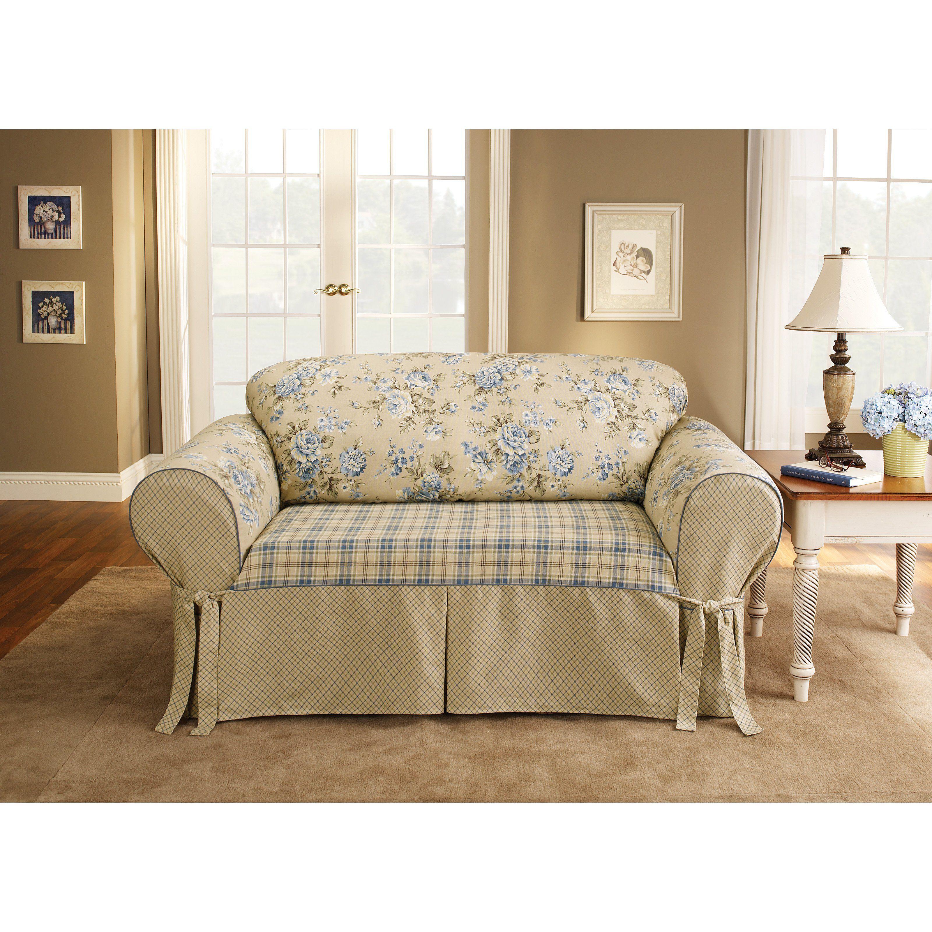 sure fit lexington cushion sofa slipcover from hayneedle com rh pinterest com
