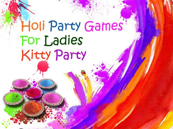 20 best holi games for ladies kitty party kitty party holi and 20 best holi games for ladies kitty party stopboris Gallery