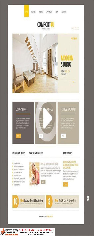 High quality affordable website design toronto call
