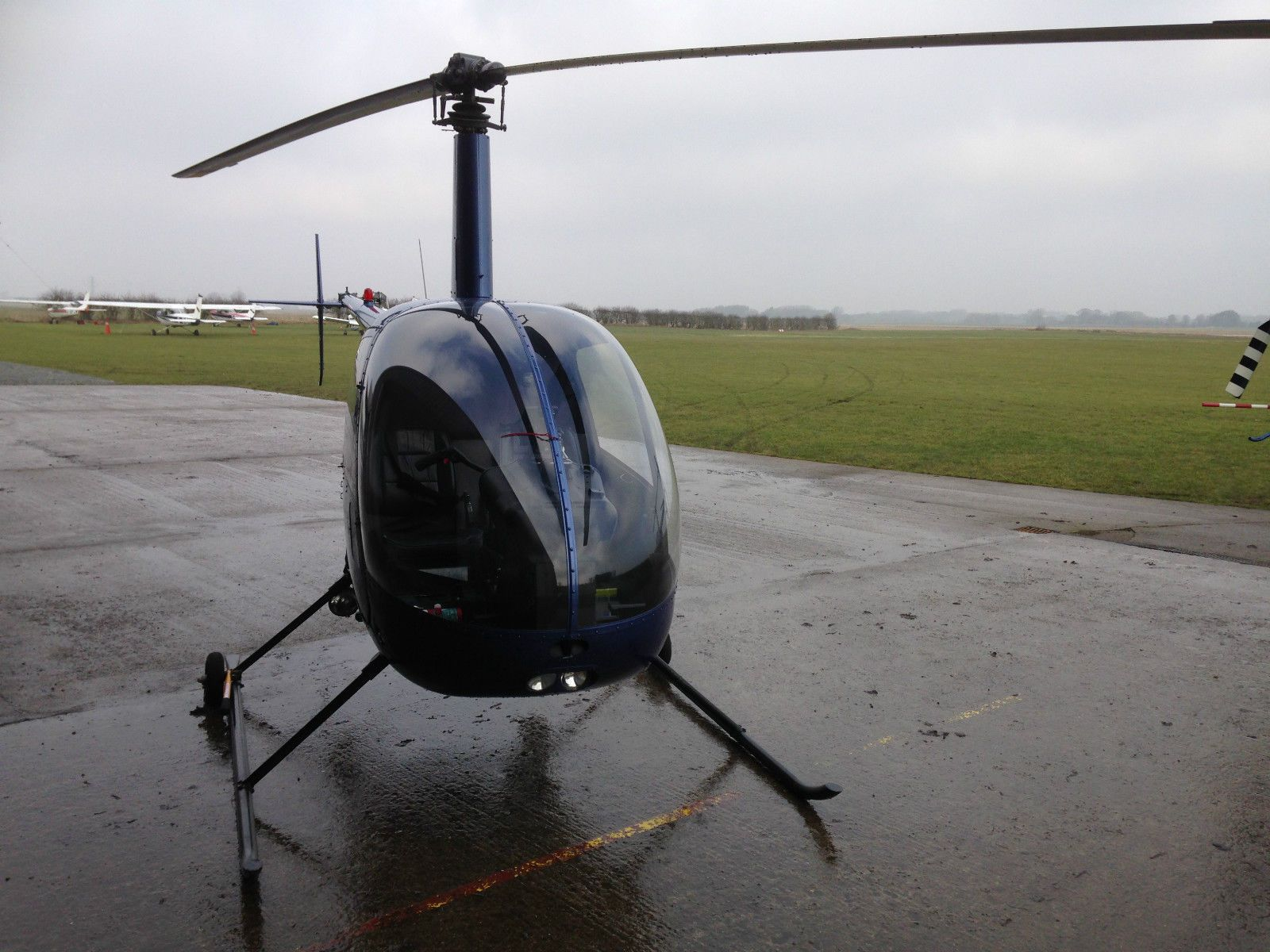 Elicottero R22 : Robinson r beta helicopter helicopters aviation
