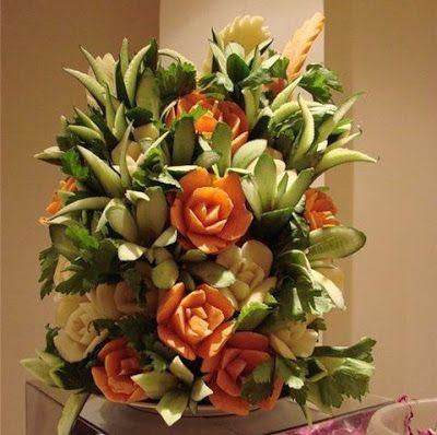 vegetable art carving