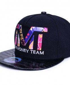 TMT The Money Team Black   Colorful Snapback Hat  45f7d9d06e0