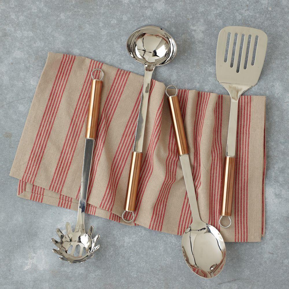 Copper Handled Utensils