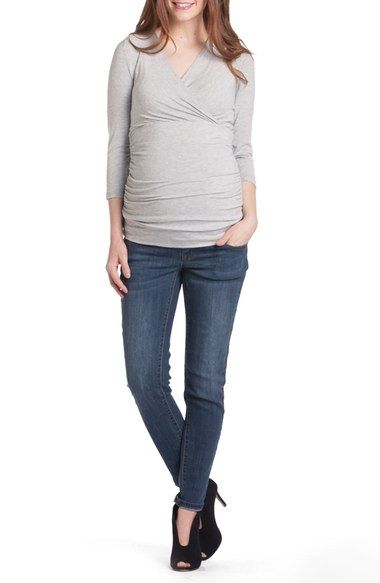 f50a9c977b9 Lilac Clothing Michelle Surplice Maternity/Nursing Top available at # Nordstrom