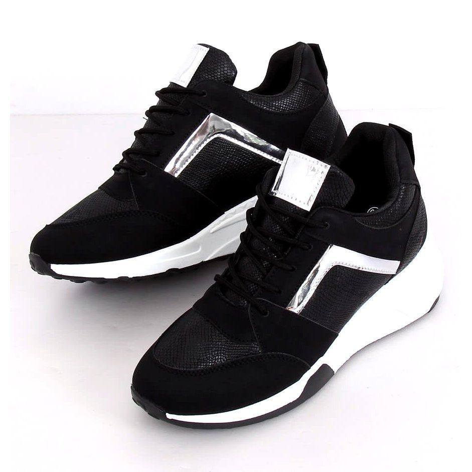 Sneakersy Na Koturnie Czarne Yl 33 Black Zolte Puma Fierce Sneaker High Top Sneakers Top Sneakers