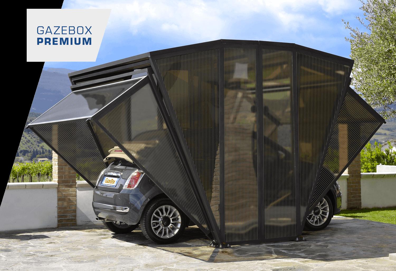 Gazebox Car Revolutionary Foldable Carport Garage For Your Auto