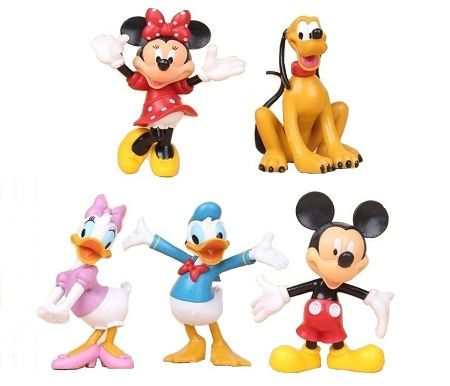 """Disney Mickey Mouse Club House Donald Duck 4/"""" Figure Doll Toy Cake Topper"""