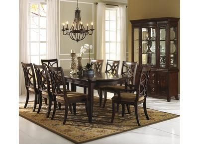 Dining rooms don't need to be stuffy. Badcock - Langley | Dining room sets, Dining room ...