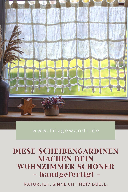 Einzigartige Scheibengardinen Fur Das Wohnzimmer In 2020 Scheibengardine Gardinen Wohnzimmer