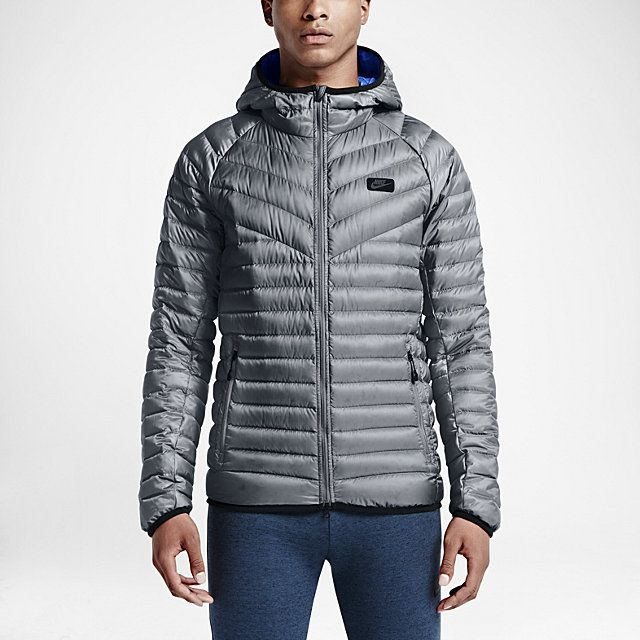 ae096513759f8 Nike Guild 550 Down Hooded Men's Jacket. Nike.com | Just An Average ...