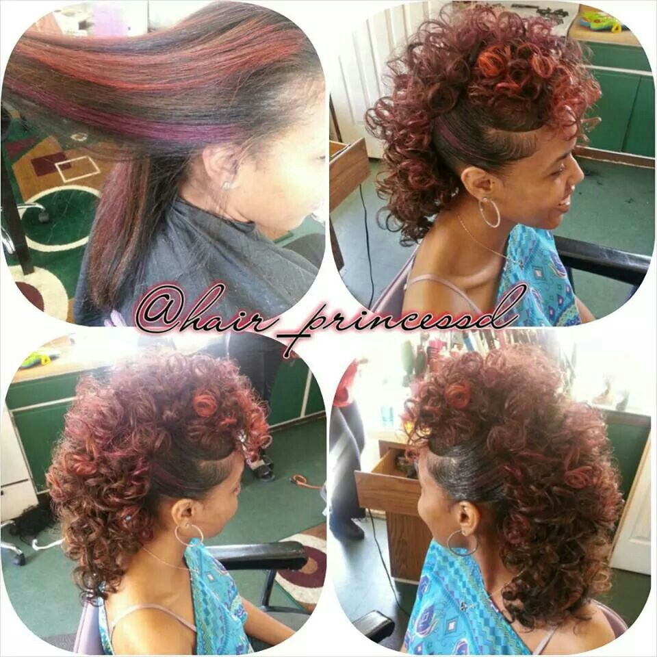 Natural hawk hairstyles pinterest natural hair style and mohawks