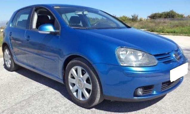 2004 Volkswagen Golf 1 9 Tdi Diesel 5 Door Hatchback Volkswagen Golf 1 Hatchback Tdi