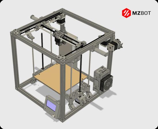 GitHub - mzbotreprap/VORON: VORON CoreXY 3D Printer - Parts