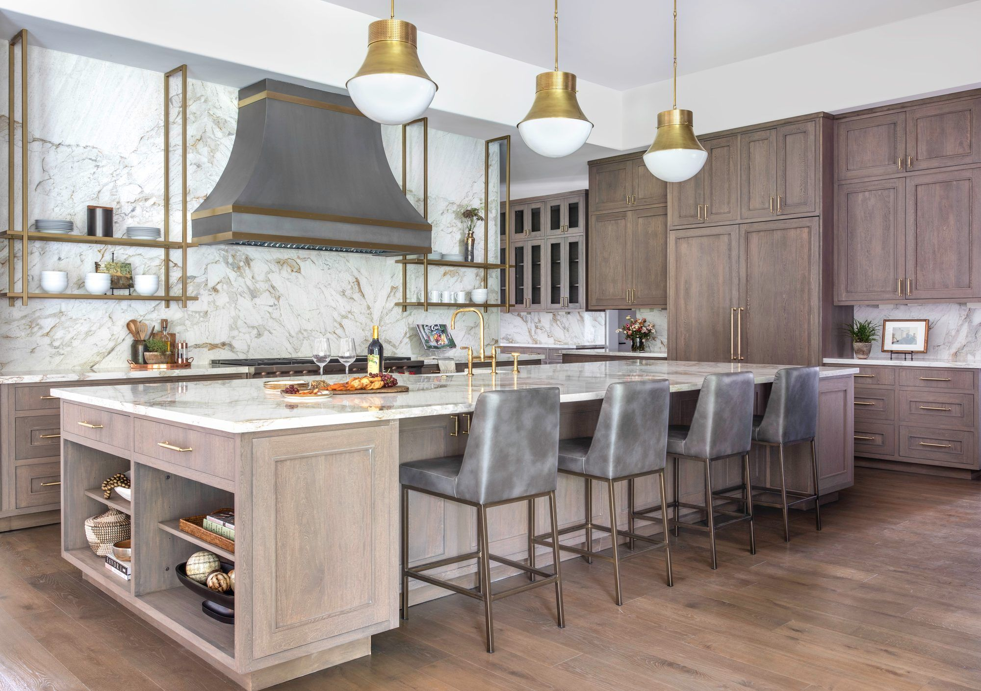 Contemporary French Chateau In Houston In Houston Tx United States For Sale 10988937 In 2020 Kitchen Views Tupper Lake Kitchen
