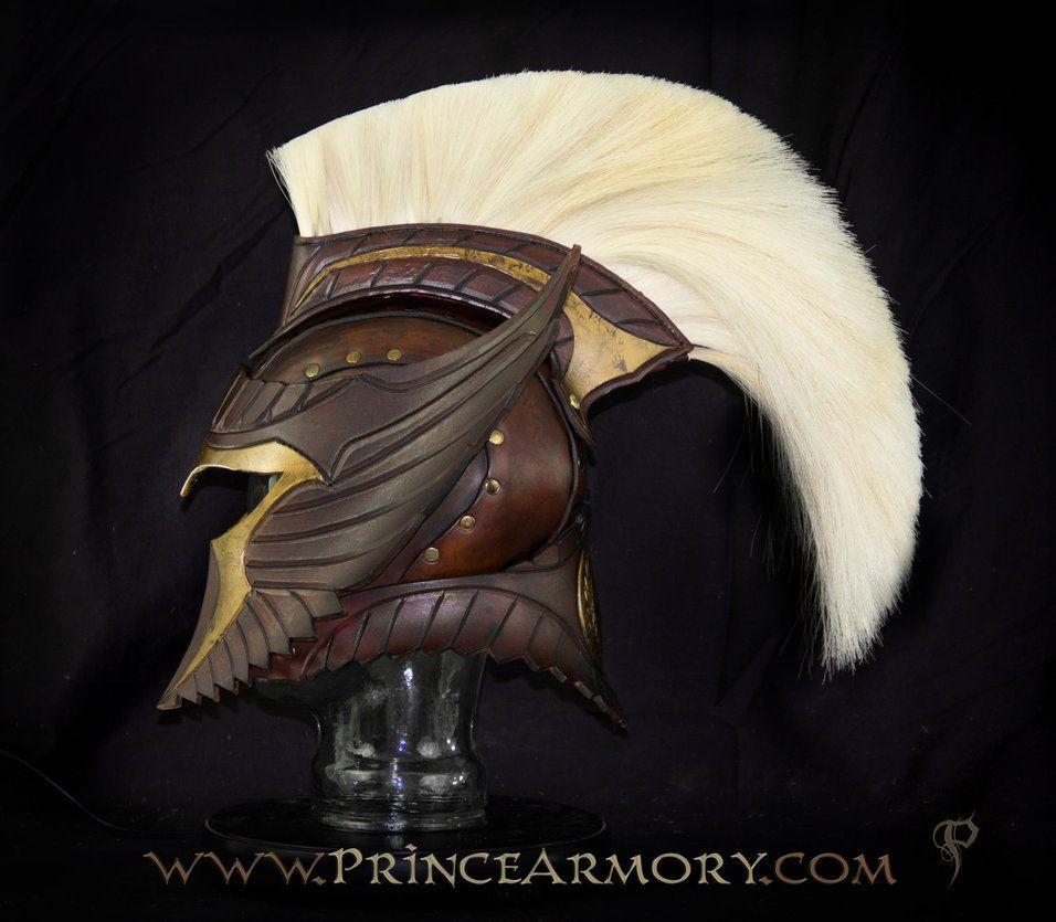 Spartan Thor Leather Helmet by Azmal on deviantART