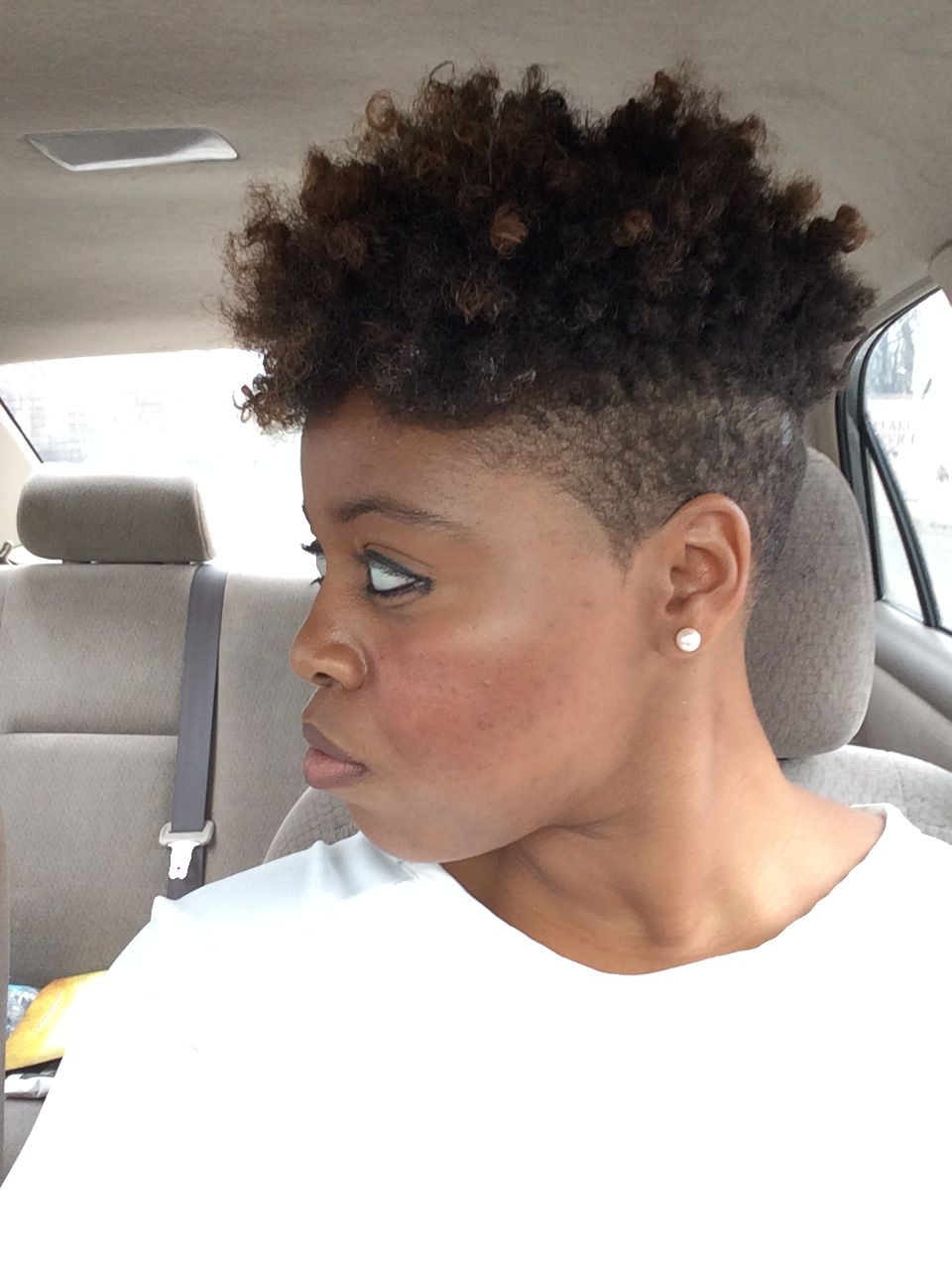 style hair styles sides curly fro 5046