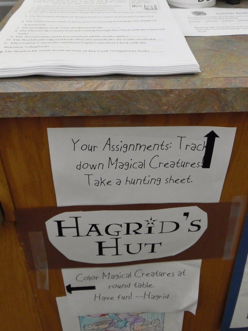 Hogwarts Party at the Library! Hogwarts party, Harry