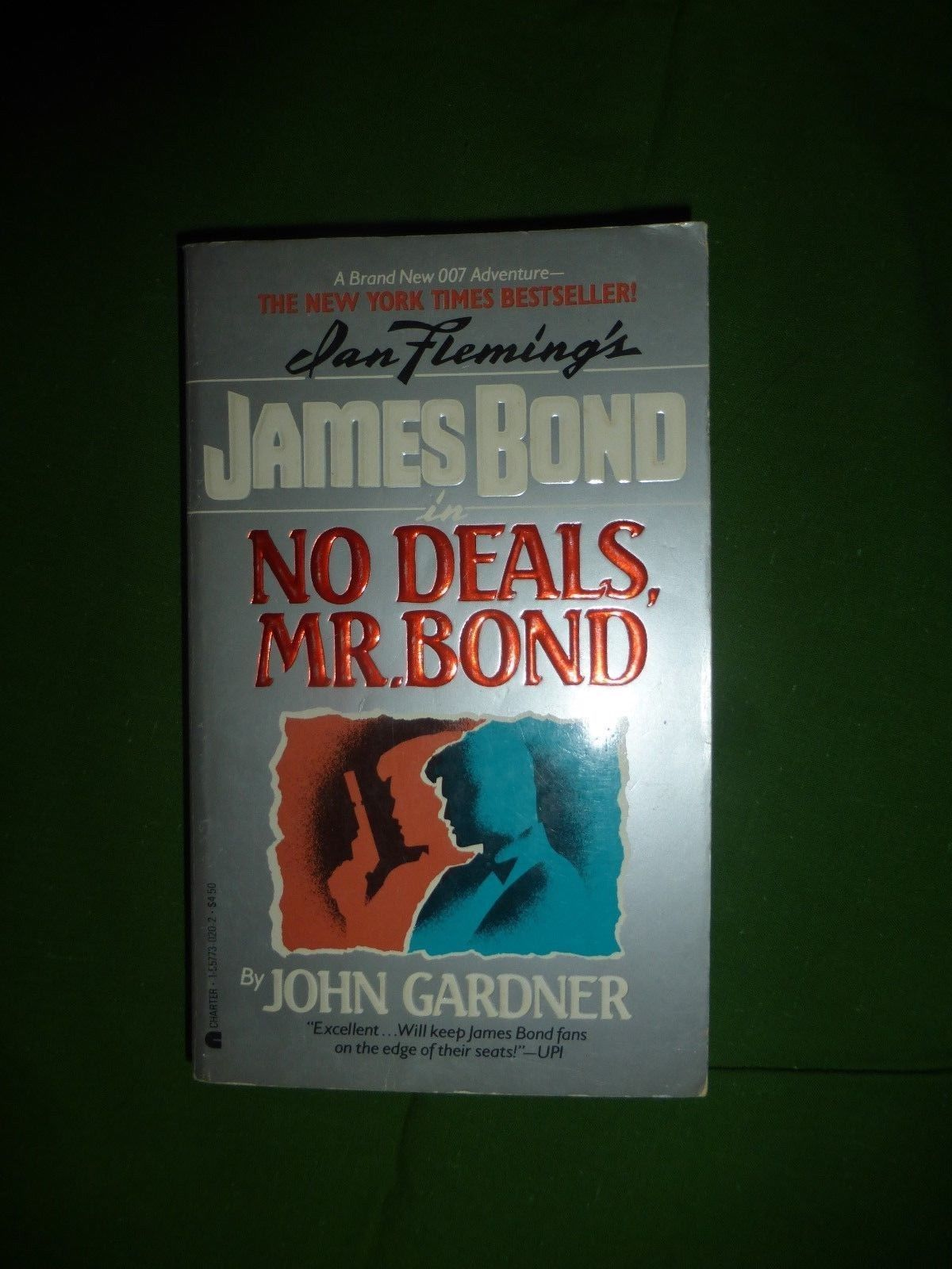 Ian Fleming James Bond No Deals Mr Bond John Gardner English