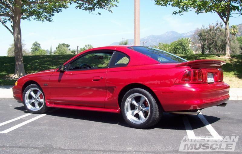 Speedform Mustang Saleen S281 Style Rear Spoiler Unpainted 94013 94 98 All Mustang Mustang Gt Sn95 Mustang