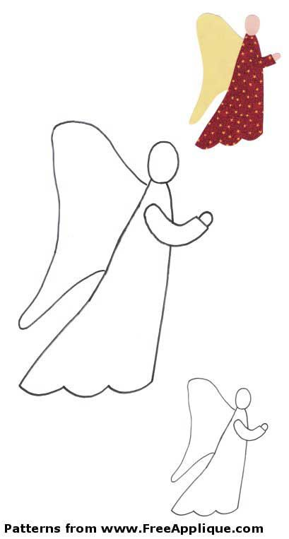 Pin by Peggy on angel crafts | Pinterest | Angel, Template and Patterns