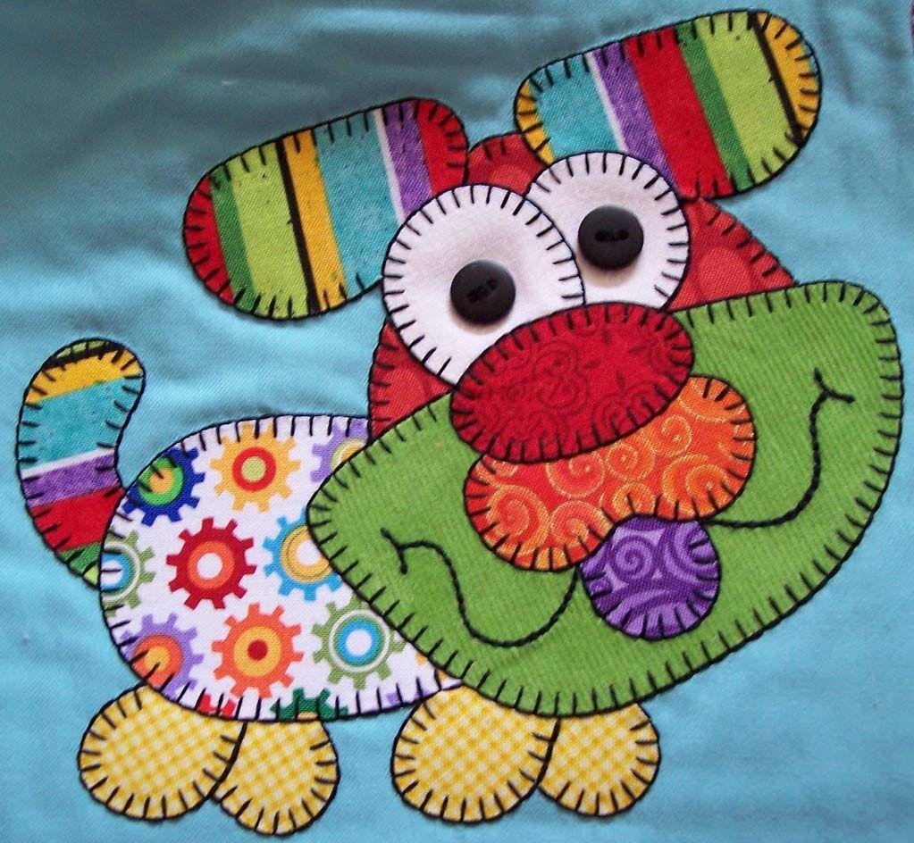 Aplicaci n patchwork camisetas decoradas pinterest for Aplicaciones decoradas