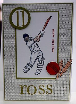 Ross's Birthday Card