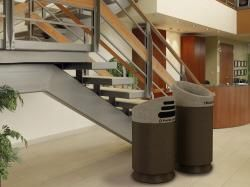Premium Office Large Trash And Recycling Garbage Cans Recycle Trash Garbage Can Waste Receptacle