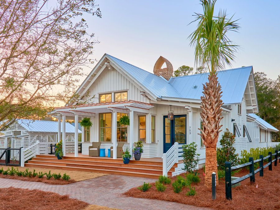 For sale this lowcountry bungalow is a perfect blend of for Coastal farmhouse plans