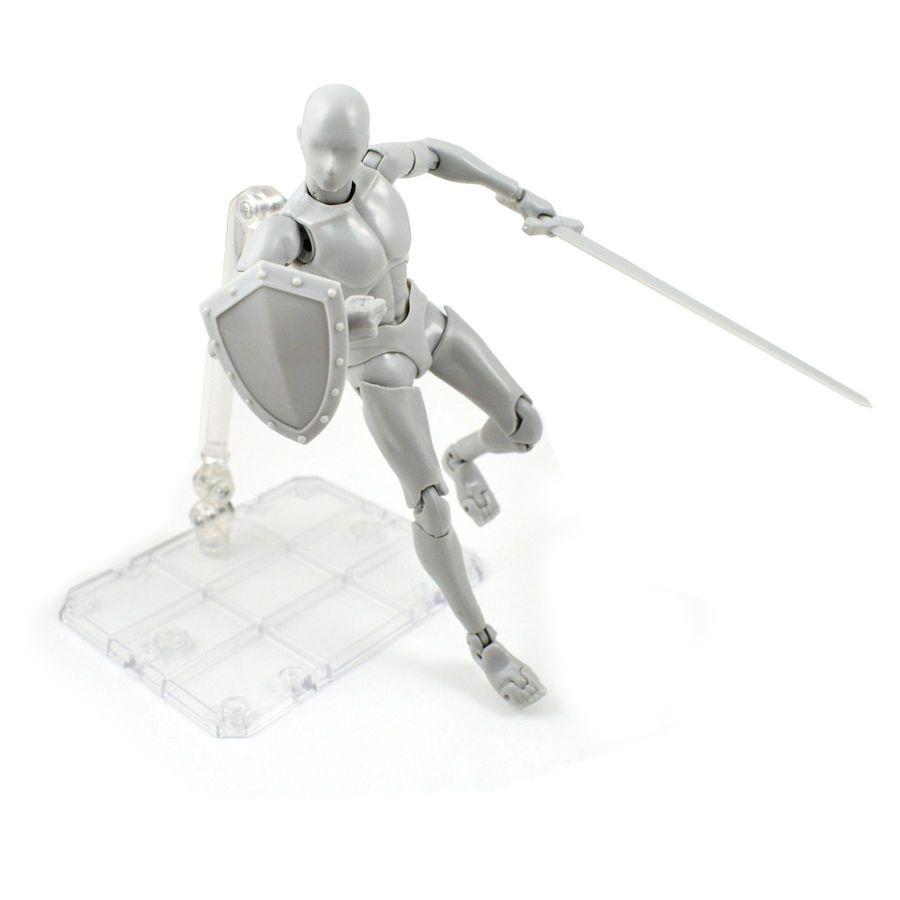 Figma S.H.Figuarts SHF Body-Chan kun DX SET PVC Action Figure Model Stand Holder