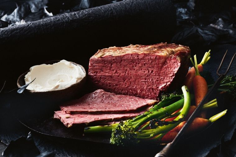 This corned beef recipe is an old-time favourite made modern by celebrity chef, Matt Moran.